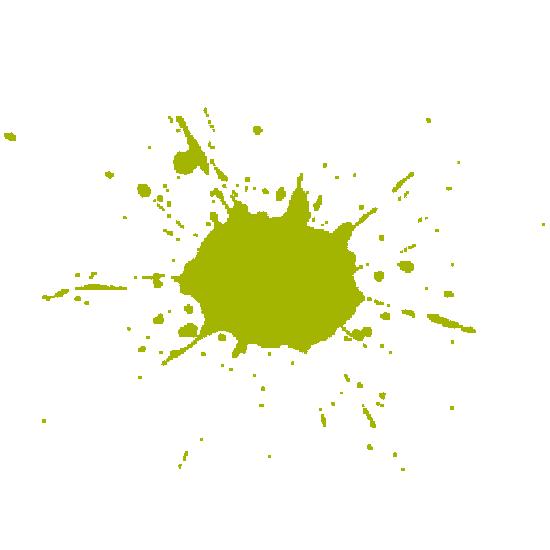 Green Paint-ball Splatter